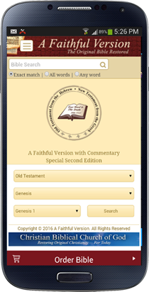Free Bible App | A Faithful Version